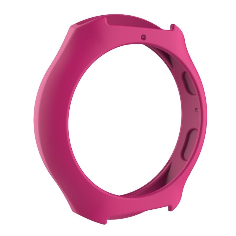 Мягкий силиконовый защитный чехол для SamsungGalaxy gear S2 SM-R720 и SM-R730 - Цвет: H P