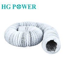 4~8 inch 10m Aluminium Flexible Fan Ducting Exhaust Pipe for Extractor Fan Air Conditioner Vent Hose Duct Outlet Household Vent недорого