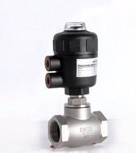 1/2 «дюймовый 2/2 способ пневматический клапан управления глобус угол сиденья клапан нормально закрытый 50 мм PA привод
