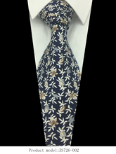 CHCUM Silk Printed Neck Tie Fhsion Distinctive Business Wedding Gifts Ties For Men 2017 Dress