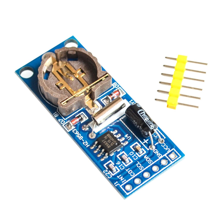 YHYS PCF8563 PCF8563T 8563 IIC horloge en temps réel RTC Module carte bien que DS3231 AT24C32