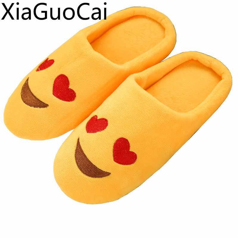 Newest Embroidered Cute Mens Slippers Soft Sole Indoor Unisex Slippers Wooden Floor Half Pack With Home Couple Cotton Slippers