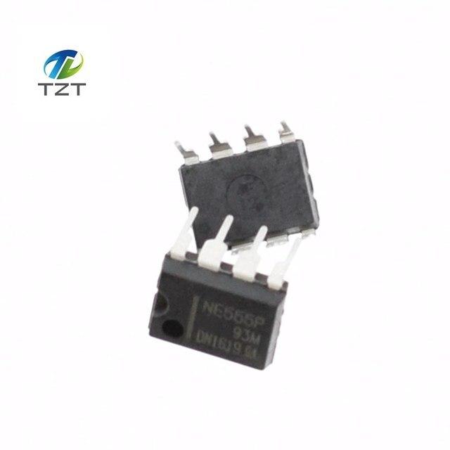 10PCS/LOT New NE555 NE555P NE555N 555 Timers DIP-8 TEXAS