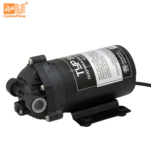 Coronwater 75 gpd Self Priming RO Water Booster Pump in Reverse Osmosis System for Well, Storage Tank SP2766