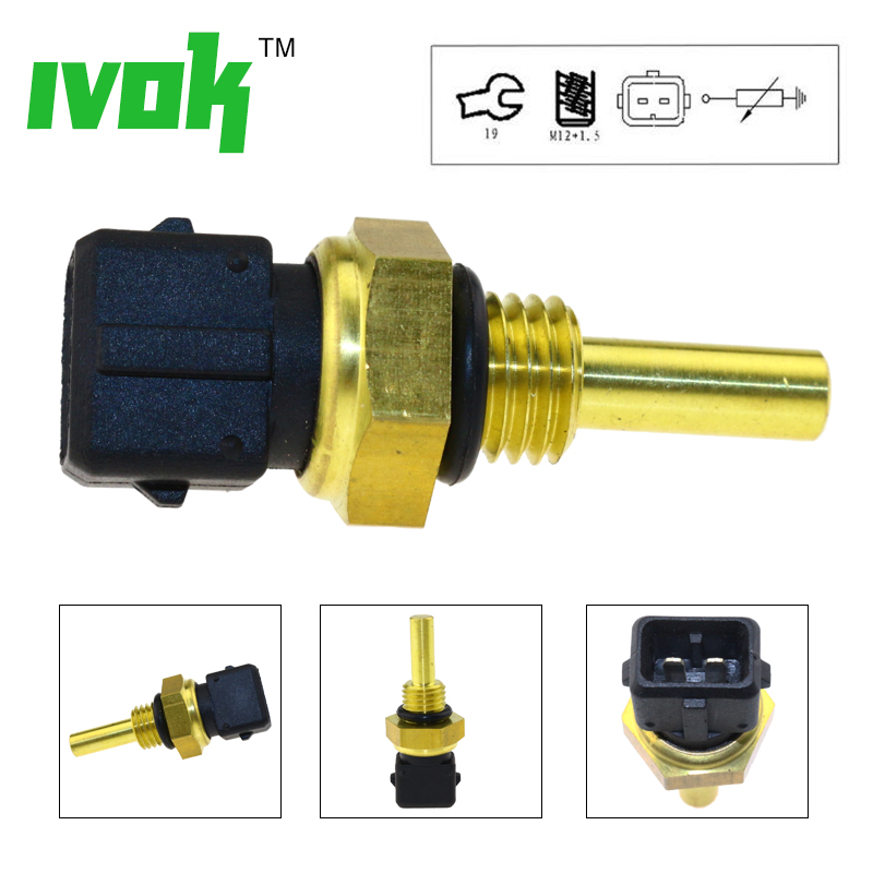 Engine Coolant Temperature Sensor Fits CITROEN Berlingo Box Ax PEUGEOT M 1992
