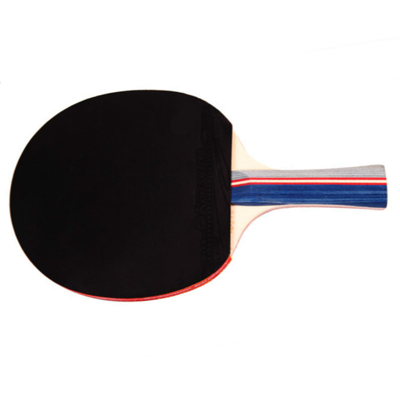 Good Table Tennis Bat Racket Long Short Handle Ping Pong Paddle Racket Set Double Face Pimples In Racquet Sports