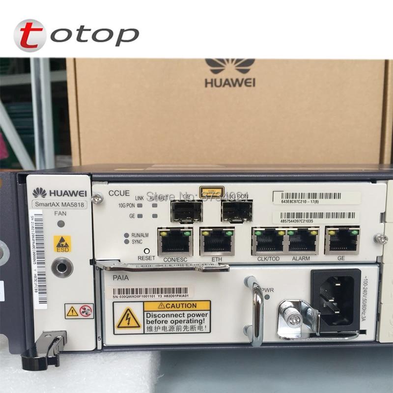 Orijinal HUAWEI 10G GPON ONU IP DSLAM Ile MA5818 kontrol panosu, VDSL2 ADSL2 + SHDSL limanlarOrijinal HUAWEI 10G GPON ONU IP DSLAM Ile MA5818 kontrol panosu, VDSL2 ADSL2 + SHDSL limanlar
