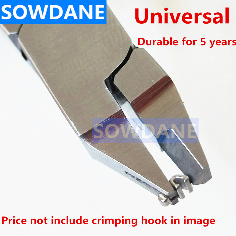 Dental Orthodontic Crimping Plier Crimpable Hook Pliers Hook Placing Plier Universal Type Stainless Steel Dentist Instrument