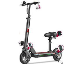 Foldable Electric Bike Electric scooter 48V 500w 28.6AH 10inch Lithium Battery Bicycle Single Seat Aluminium alloy Ebike
