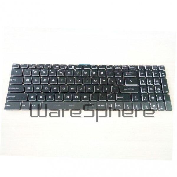 New Original Backlit Keyboard Without Frame For MSI GE72 GE62 WS60 GS60 GS70 GT72 V143422AK1 S1N-3EUS215-SA V143422AS1 laptop keyboard for msi ge60 v123322ck1 ti s1n 3eth261 sa0 tr s1n 3etr2a1 sa0 it v123322ik1 v139922ck1 uk hb s1n 3ehb2h1 sa0 ui