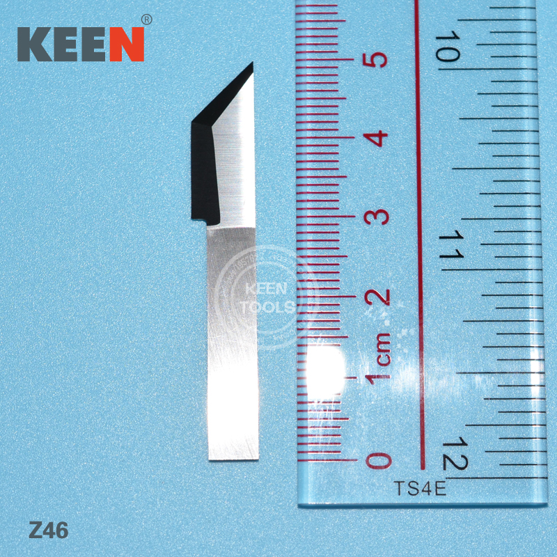 Cutting Fiber Tungsten Steel Carbide Leather Blade/tungsten Carbide Slotting  Blade Knives Z46