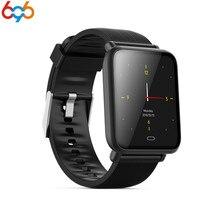 696 Blutdruck Smart Uhr Männer Herzfrequenz Sport Uhr Puls Meter Smart Armband IP67 Wasserdichte Bluetooth Uhr für Frauen-in Intelligente Armbänder aus Verbraucherelektronik bei