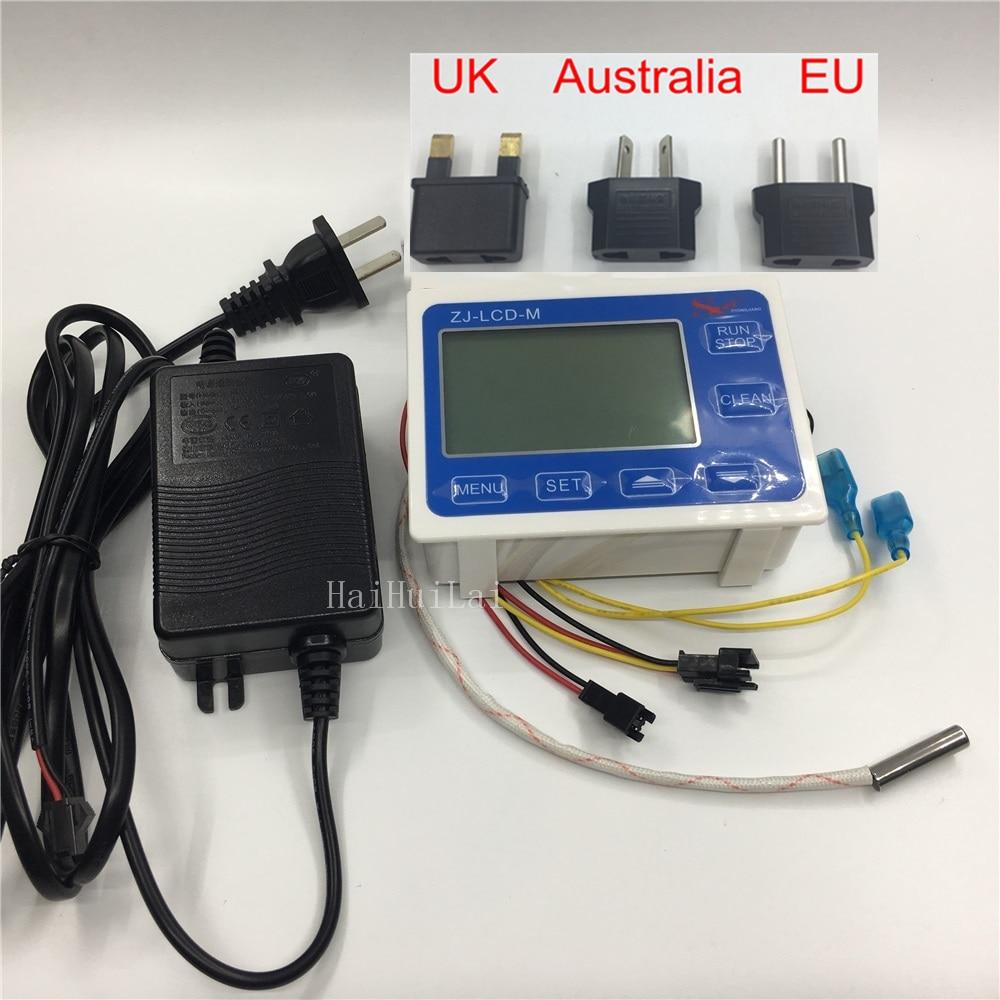 Measure Flow sensor Meter LCD Display ZJ LCD M screen for flow sensor Magnetic valve