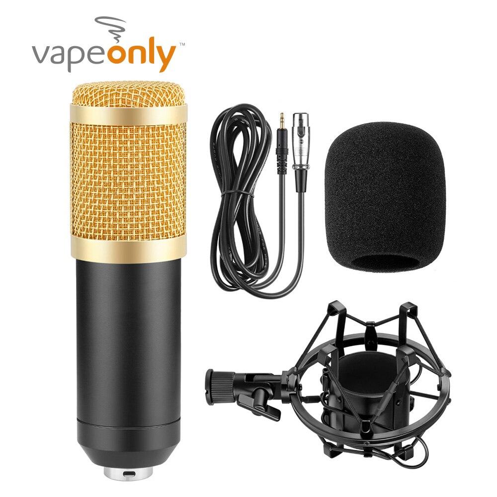 Vapeonly BM 900 USB Condenser Microphone Desktop Wired Desktop Broadcasting  Studio Microphones Tripod Mic Broadcasting Studio