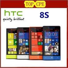 "Refurbished 5MP camera Win8 Unlocked Cell Phone 8S Original HTC Windows Phone 8S A620e GPS WIFI 4.0""TouchScreen"
