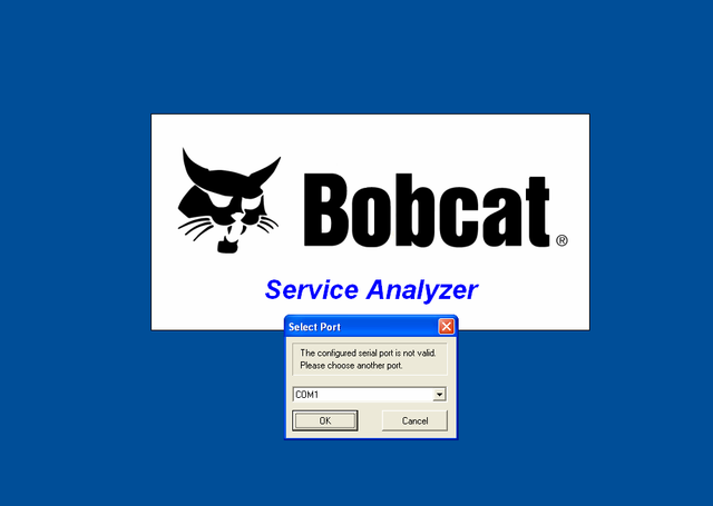 BOBCAT Service Analyzer Version 82.10