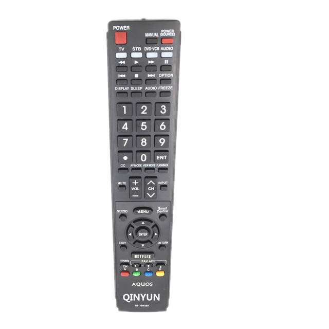 US $8 0  GB118WJSA REMOTE CONTROL FOR sharp TV-in Remote Controls from  Consumer Electronics on Aliexpress com   Alibaba Group