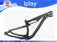 IPLAY full suspension 29er carbon frame carbon MTB frame mtb carbon mountain bike frame 29er with cheap price EMS Free Shipping