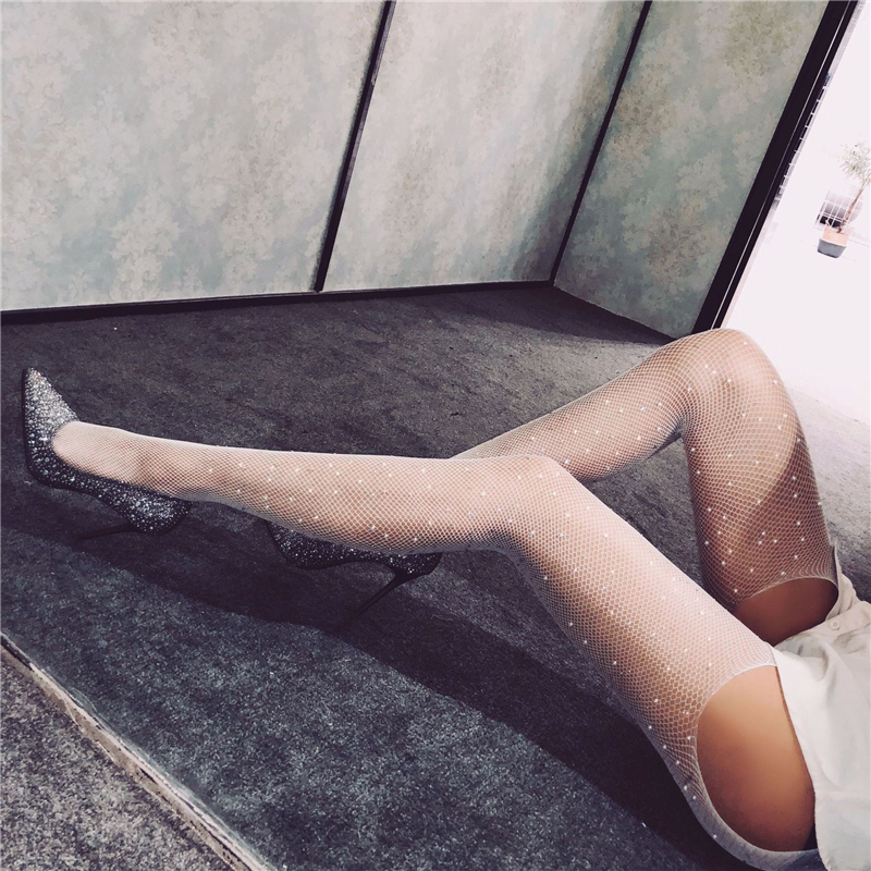 2019 Sexy Open Crotch Socks Lingerie Exotic Apparel Lingerie Elasticity Babydoll Porno Teddy Underwear Transparent Sexy Costumes