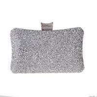 2019 Women evening bag diamonds elegant crystal Day clutch luxury bridal wedding party wallet purse handbag Simple crystal purse