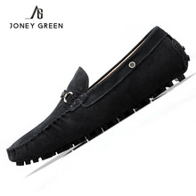 Shoes Men Luxury Brand 2017 New Spring Suede Loafers Men Casual Moccasins Flat Driving Shoes Genuine Leather Slip On Espadrilles