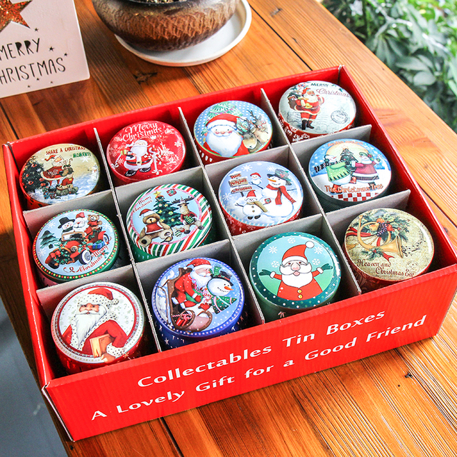 Collection Of Christmas Cookies In Tins Gift Unamon