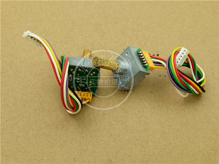 Original new 100% import photoelectric encoder 6 wiring pin belt switch with step 25 points