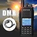 ZT-D900 УКВ 136-174 МГц Цифровой DMR Портативный Цифровой Трансивер Walkie Talkie 1000 Аэрожелобами Двухстороннее Радио Портативный Ветчина радио