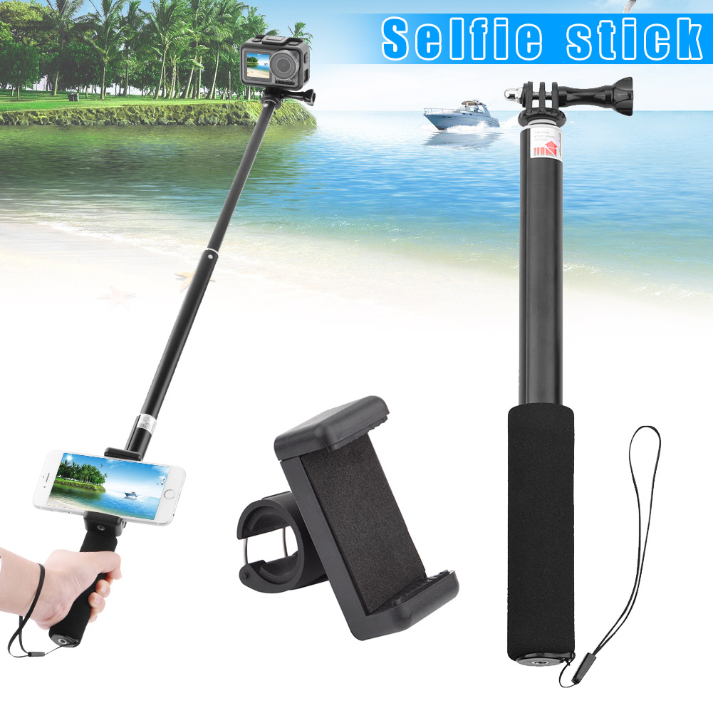 Selfie Stick Telescopic Bar Phone Mount Adapter for DJI OSMO GoPro Hero Camera New Arrival