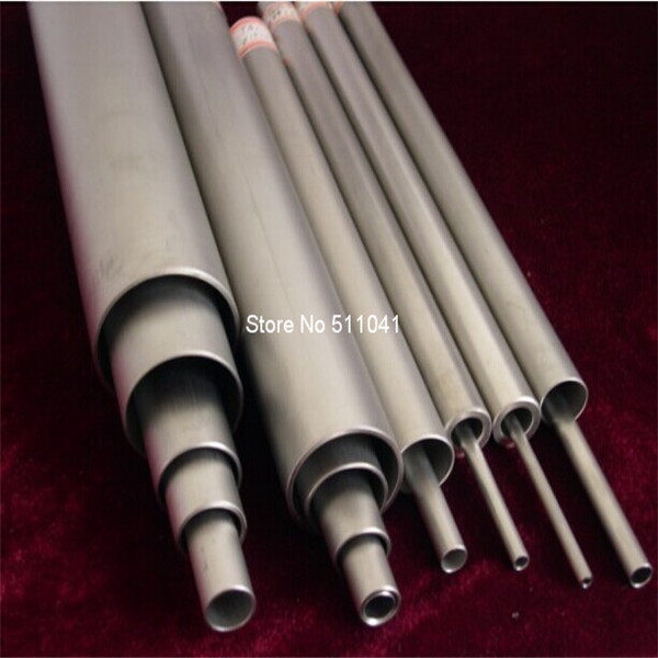 Titanium tube ASTM B338 Grade 2 ,OD - 20mm ID - 16mm Length - 250mm, 5pcs wholesale ,free shipping 5pcs 304 stainless steel capillary tube 3mm od 2mm id 250mm length silver for hardware accessories