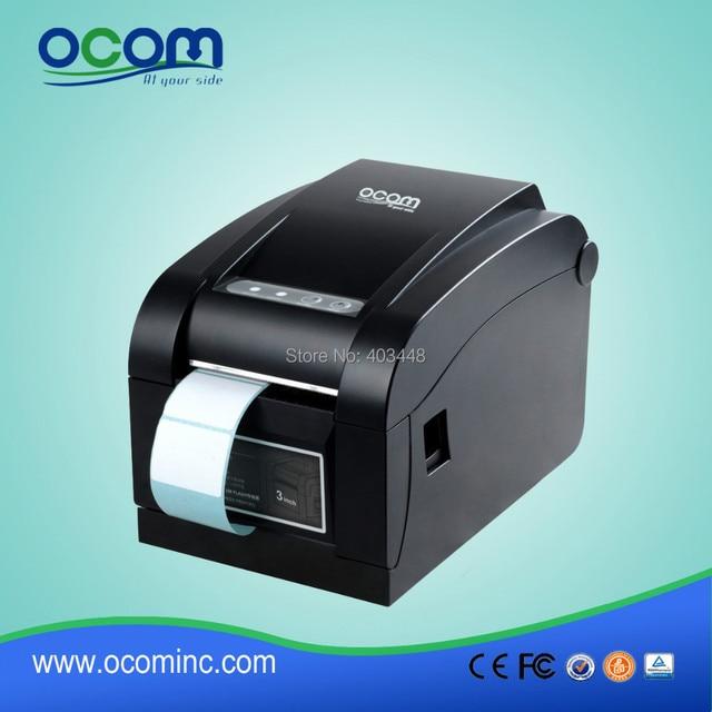Mini barcode label impresora de etiquetas