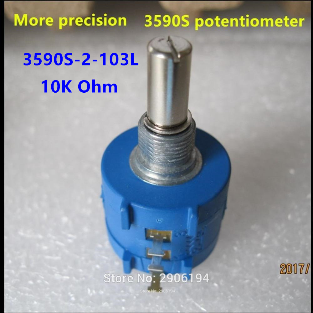 <font><b>3590S</b></font>-<font><b>2</b></font>-<font><b>103L</b></font> <font><b>3590s</b></font> 10K potentiometer switch 10 ring precision adjustable resistor multi turn potentiometer <font><b>3590s</b></font>-<font><b>2</b></font>-<font><b>103l</b></font> image