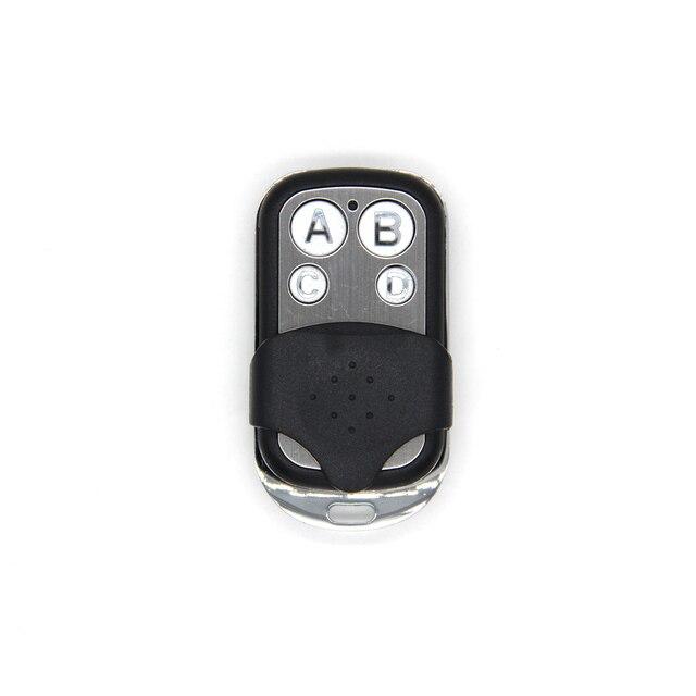 אוניברסלי ABCD מפתח שלט רחוק 433.92MHZ מרחוק שיבוט 4 ערוץ אוטומטי רכב דלת מוסך מעתק רולינג קוד רכב