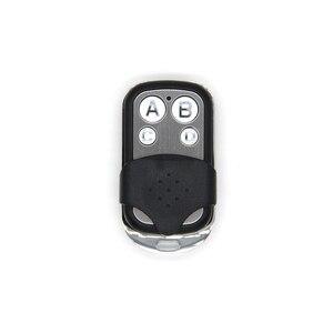 Image 1 - Uniwersalny ABCD kluczyk z pilotem zdalnego sterowania 433.92MHZ zdalnego klonowanie 4 kanał Auto garaż samochodowy drzwi powielacz Rolling kod do samochodu