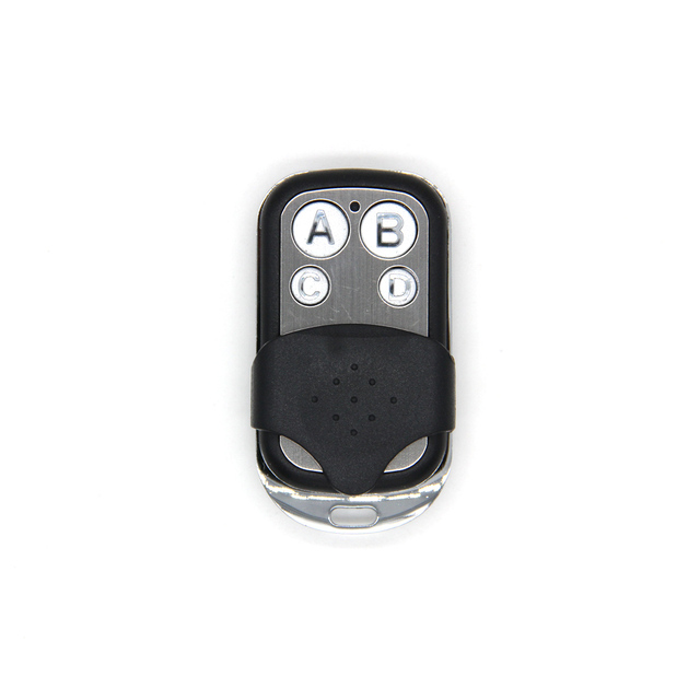 Uniwersalny ABCD kluczyk z pilotem zdalnego sterowania 433.92MHZ zdalnego klonowanie 4 kanał Auto garaż samochodowy drzwi powielacz Rolling kod do samochodu