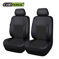 Car Pass Top Quality Pu Leather Auto Car Seat Covers Fit Most Vehicles Seats Interior Accessories