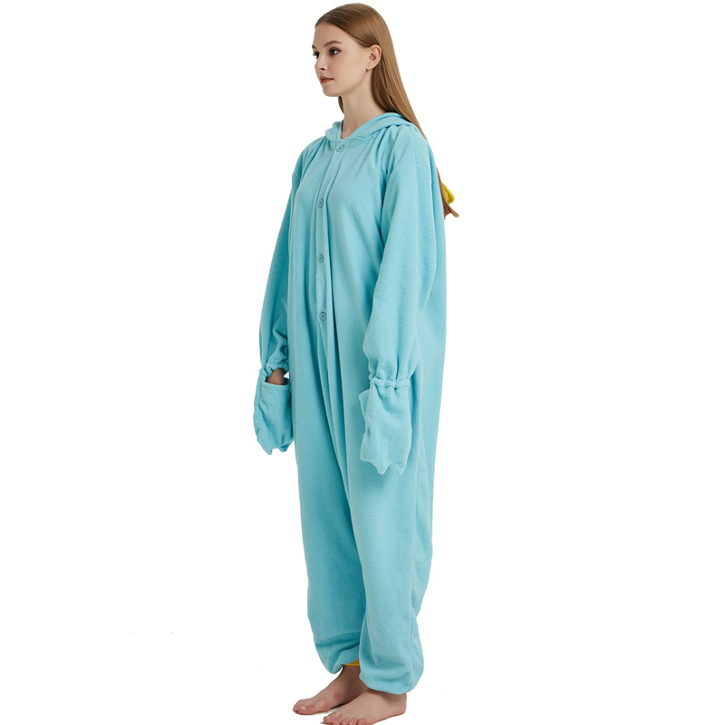 Unisex Perry the Platypus Costumes Onesies Monster Cosplay Pajamas Adult Pyjamas Animal Sleepwear Jumpsuit (2)
