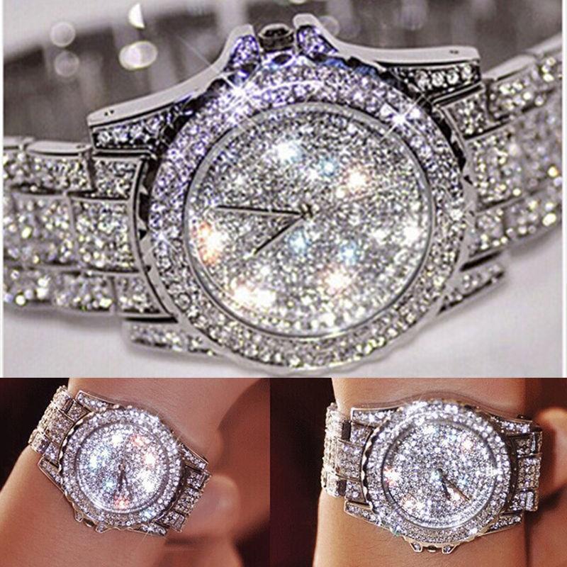 Luxury Women Watches Fashion Ladies Rhinestone Watch Crystal Female Quartz Wristwatches Girls Dress Watch 2017 цена и фото