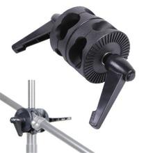 Supon поворотный двойной головкой держатель кронштейн для фото штанга для фотостудии отражатель кронштейн