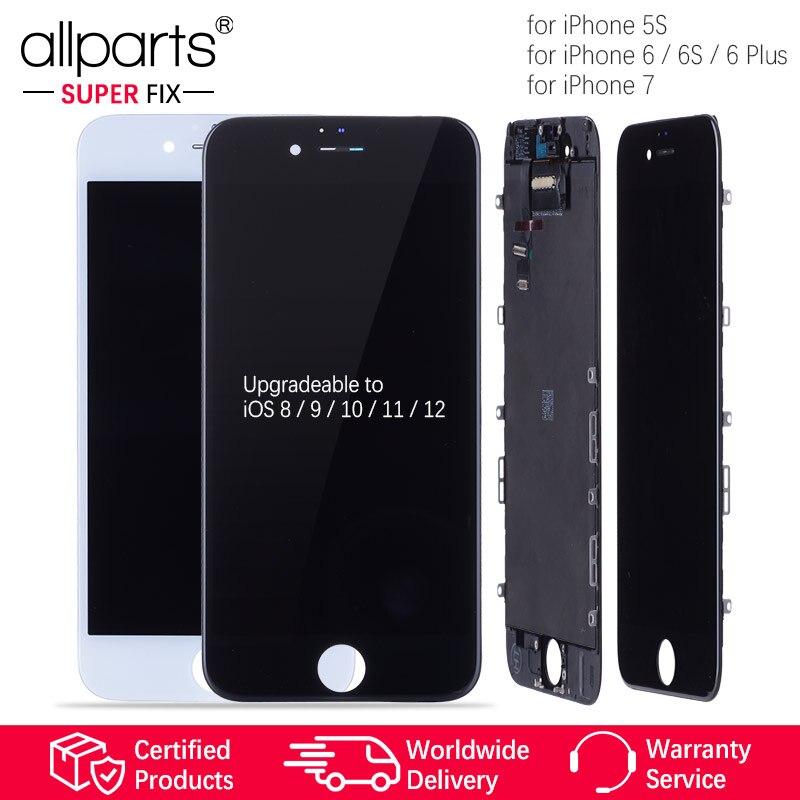 Grado AAA OEM para iPhone 6 Pantalla LCD 5S 6 Plus 7 LCD con conjunto de pantalla táctil 3D para iPhone 6S Pantalla LCD Digitalizador de vidrio