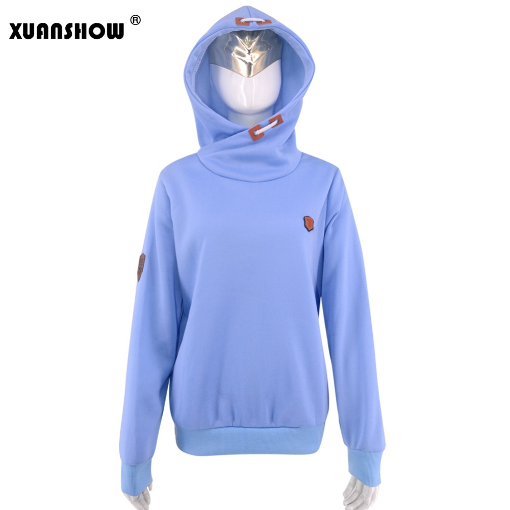 Women's Fleece Hoodies, Ladies Sweatshirts, Casual Solid Long Sleeve 10