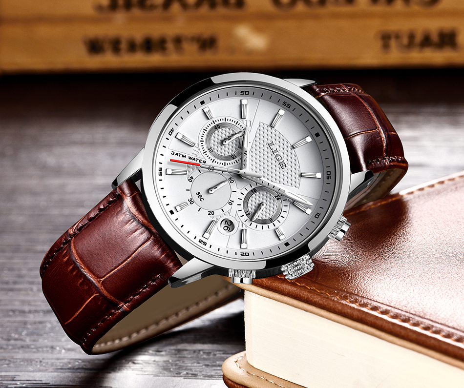 HTB11ceZaQ9E3KVjSZFGq6A19XXaB LIGE 2020 New Watch Men Fashion Sport Quartz Clock Mens Watches Brand Luxury Leather Business Waterproof Watch Relogio Masculino