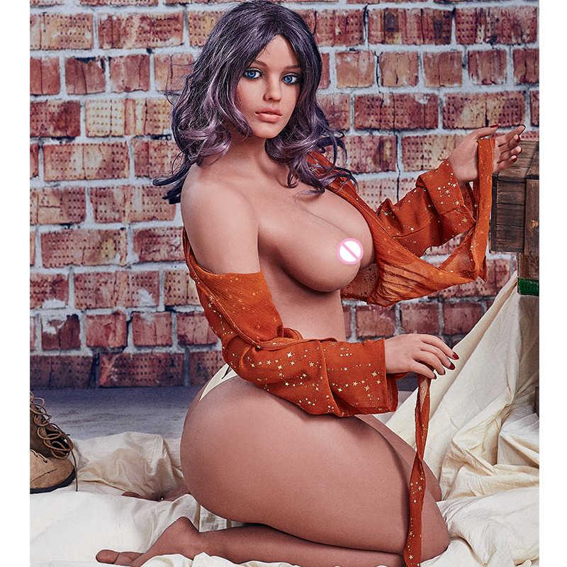 156 سنتيمتر الدهون ضخمة الحمار السمين دمى الجنس واقعية حقيقية سيليكون نابض بالحياة أوروبا دميات حب الحقيقي TPE الاستمناء دمى للذكور