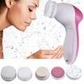 Portable Mini Deep Clean 5 In 1 Electric Facial Cleaner Face Skin Care Brush Massager Free Shipping