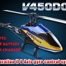 WALKERA V450D03 3D 6 Axis Gyro 6CH Brushless Helicopter with
