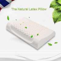 Natural Latex Pillow Neck Therapy Pillow Child Adult Student Protection Cervical Health Memory Pillow Natural Rubber