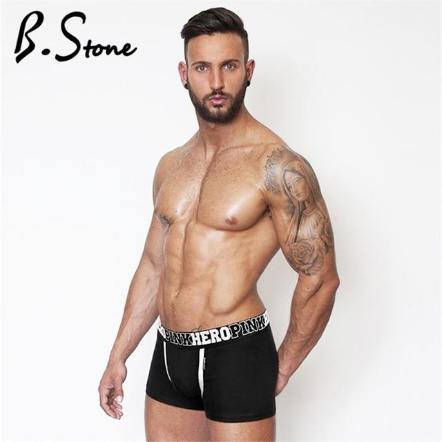 2019 coton Sexy sous,vêtements pour hommes Boxer grande taille homme Boxer  caleçon de mode