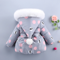 Baby Toddler Snow Jacket Coat Children Clothing Wear Winter Baby Girl Winter Clothes Snow Suit Romoers