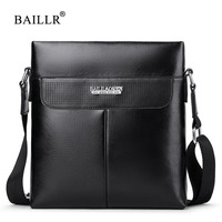 BAILLR Brand Men Bag Small Flap Fashion Mens Shoulder Bags Crossbody Vintage Casual Messenger Bag Designer