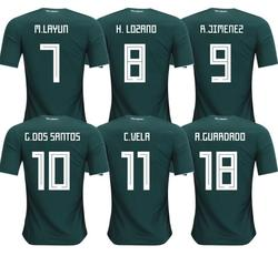 1988 Limited Edition Commemorative Edition Mexico Soccer Jerseys 2018 Retro Jerseys Home Mexico Footbal lWorld Cup Mexico home